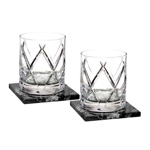 $175.00 DOF Set/2 With Marble Coasters