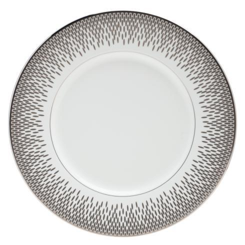 "$70.00 Accent Salad Plate 9"" Grey"