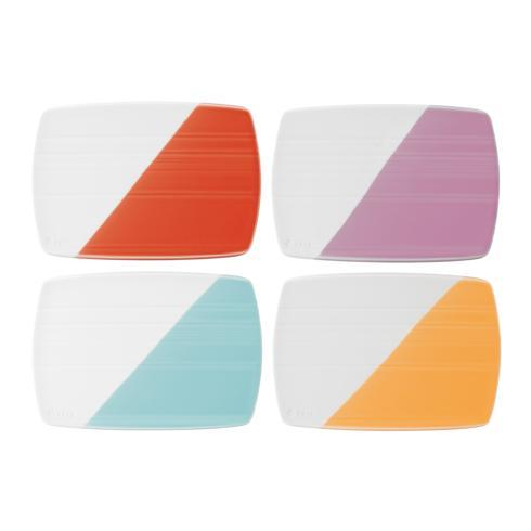 "$34.50 Cheese Boards 7.8"" Set of 4"
