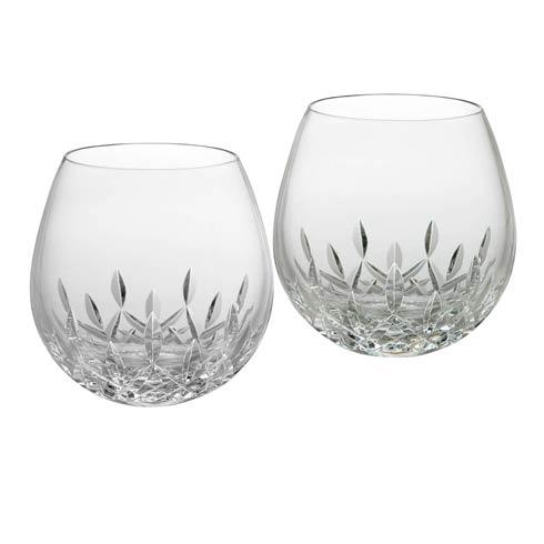 $120.00 Stemless Light Red Wine, Pair