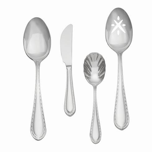 $65.00 Stainless 4-Piece Hostess Set