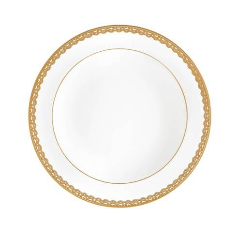 $85.00 Gold Rim Soup Bowl 9""