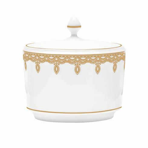 $135.00 Gold Covered Sugar Bowl