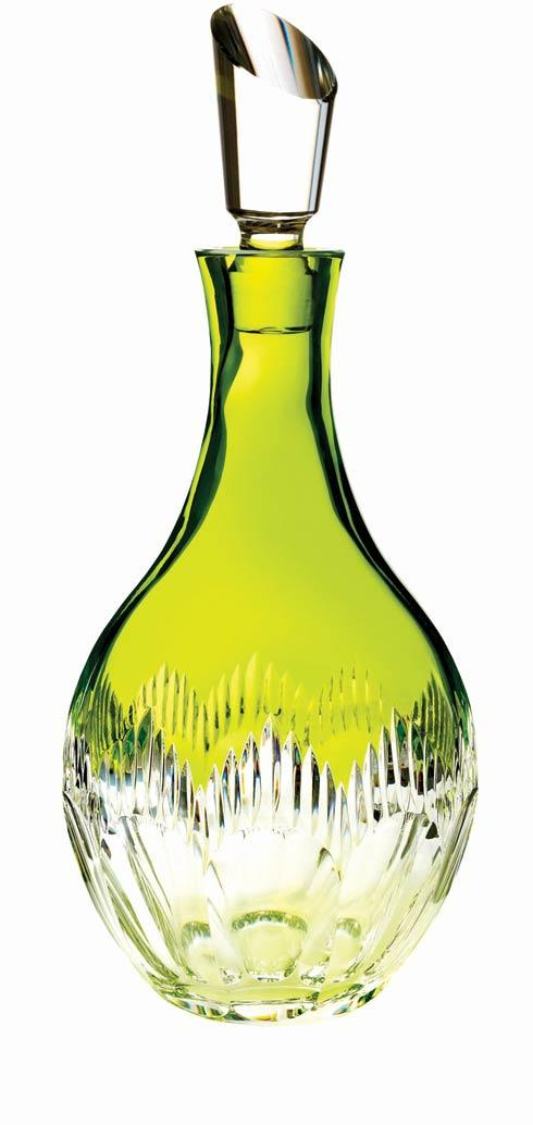 $375.00 Neon Lime Green Decanter