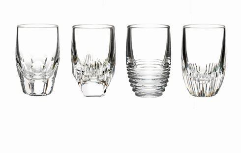$175.00 Shot Glasses- Clear, Set of 4