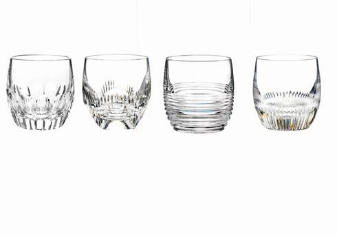 $195.00 Double Old Fashioned - Clear, Set of 4