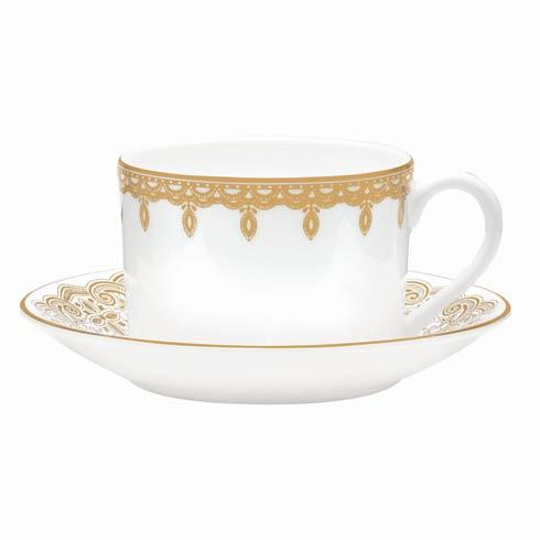 $48.00 Gold Teacup and Saucer