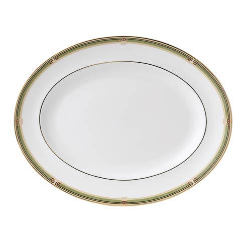 $190.00 Oval Platter Border