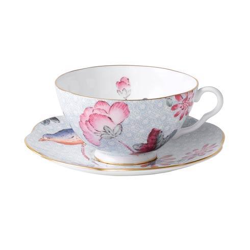 $44.95 Teacup & Saucer Set Blue