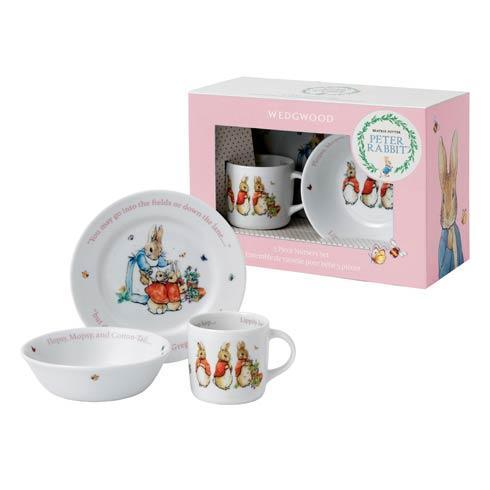 $39.95 Girl\'S 3-Piece Set (Plate, Bowl & Mug)