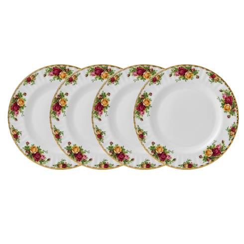 """$169.99 Dinner Plate 10.5"""" Set/4"""