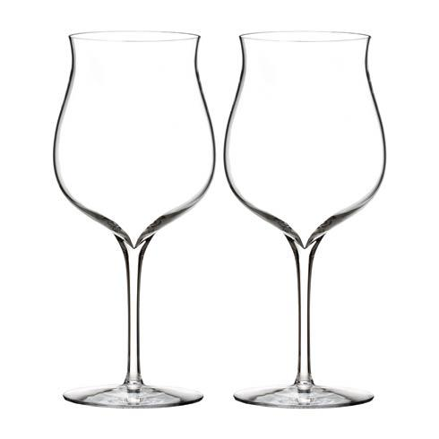 $70.00 Burgundy Glass, Pair