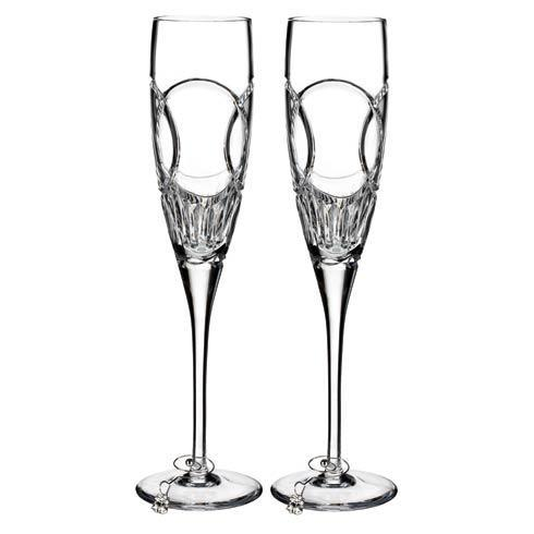 $135.00 Waterford Love Wedding Vows Flute, Pair