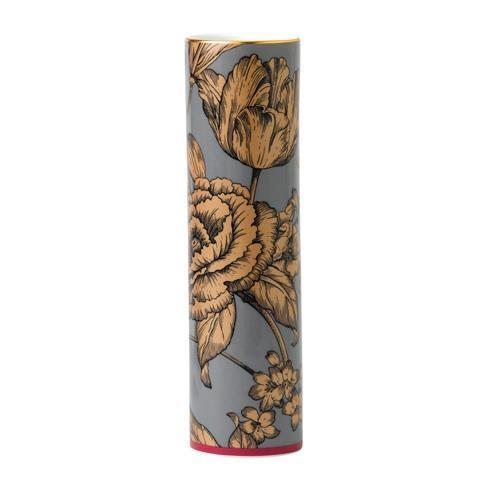 """$125.00 Vase 2.4x9.1"""" Floral"""