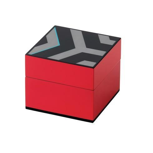 "$100.00 Box Lidded 4.7x4.7"" Pink"