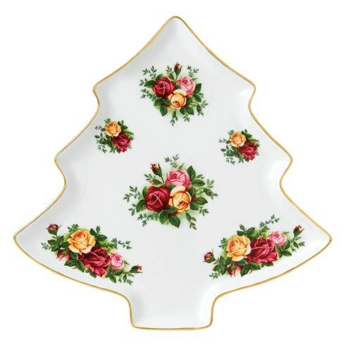 """$58.00 Old Country Roses Tree Tray 11"""""""