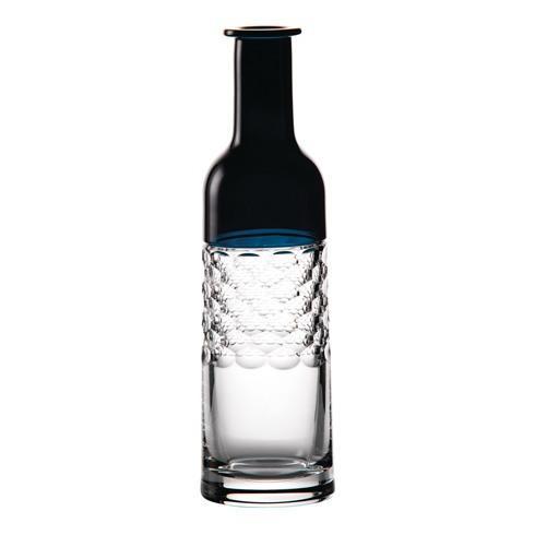 """$250.00 Bottle Vase 12"""", Teal"""