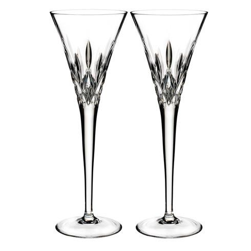 $135.00 Toasting Flute Pair, Clear