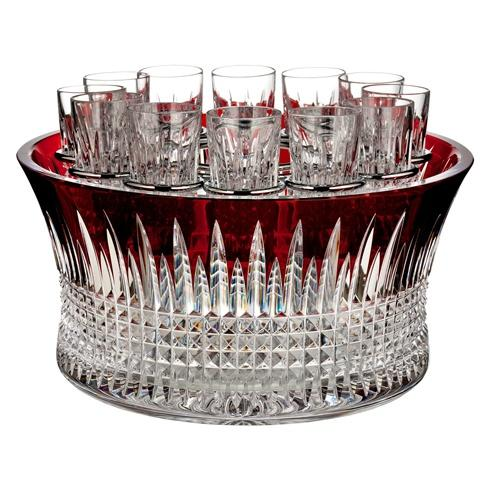 $1,200.00 Lismore Diamond Vodka Chiller Red