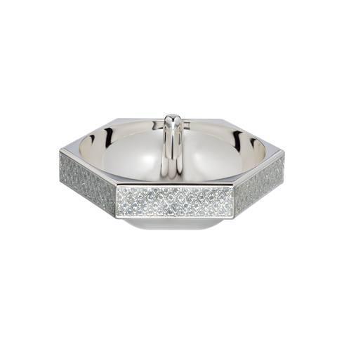 $60.00 Lismore Diamond Ring Holder Silver