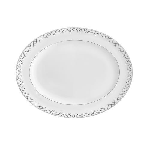 $185.00 Lismore Pops Oval Platter