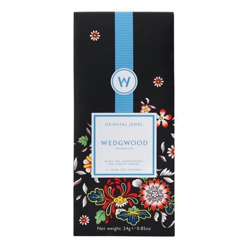 $12.95 Black Sencha Box/12 Oriental Jewel