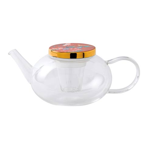 $99.95 Teapot Glass (With Ceramic Lid) 33.8 OZ