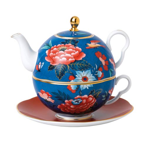 $149.95 Tea For One (Blue & Red)