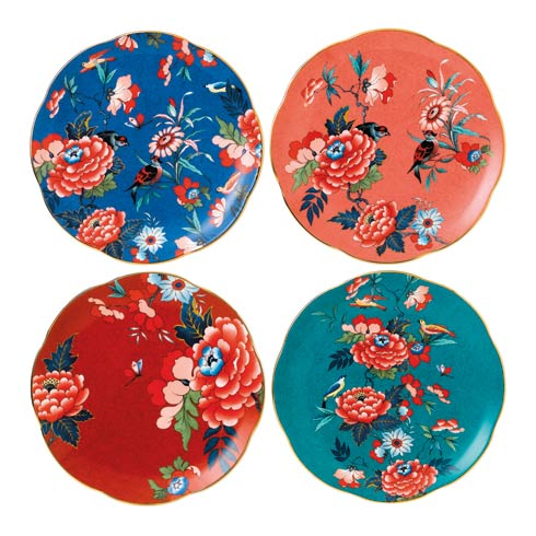"""$139.95 Plate 8.3"""" Set of 4"""