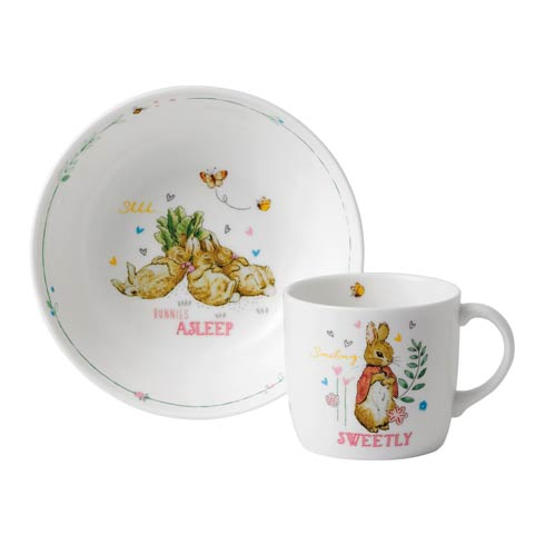 $34.95 Girl\'s 2 - Piece Set (Bowl & Mug)