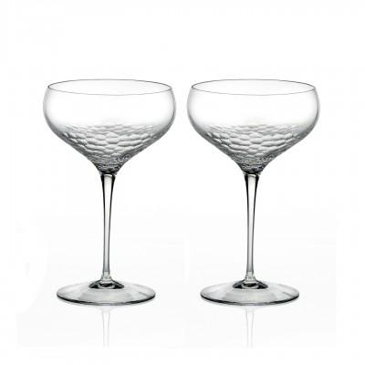 $110.00 Champagne Saucer Pair