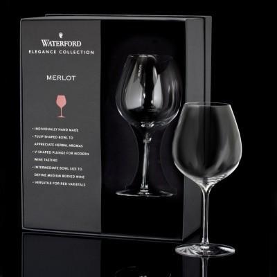 $60.00 Merlot Wine Glass Pair