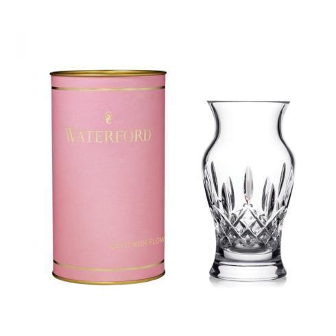"""$75.00 Lismore 6"""" Vase (Pink Tube)"""