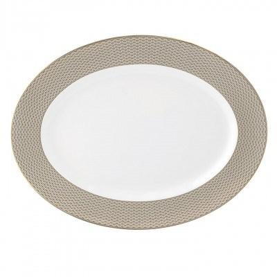 """$195.00 oval platter 15.5"""""""
