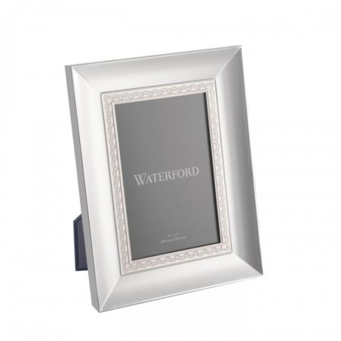 $60.00 Lismore Lace Silver 4x6 Picture Frame