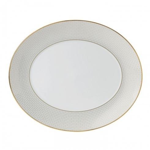 """$215.00 Oval Serving Platter 13"""""""