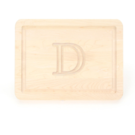 $45.00 9x12  cutting  board w/ monogram