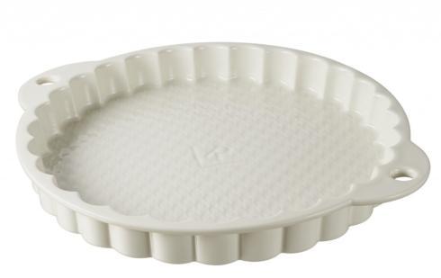 $69.99 Tart Dish Giftboxed Creamy White