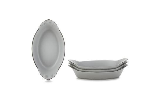$94.99 Set of 4 Oval Eared Dishes