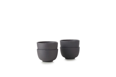 $74.99 Set of 4 Serving Bowl Matte Slate Style