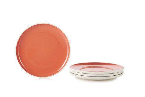 "$195.00 Set of 4 Plates Ø9.75"""